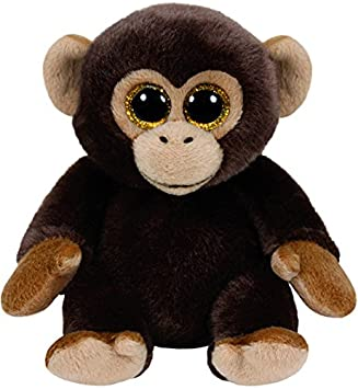 Ty Beanie Babies Bananas, mono, 15 cm, color marrón (United Labels Ibérica