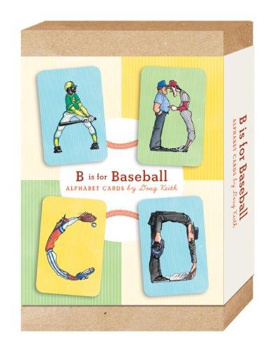 B Is for Baseball: Alphabet (Baseball Alphabet Letter)