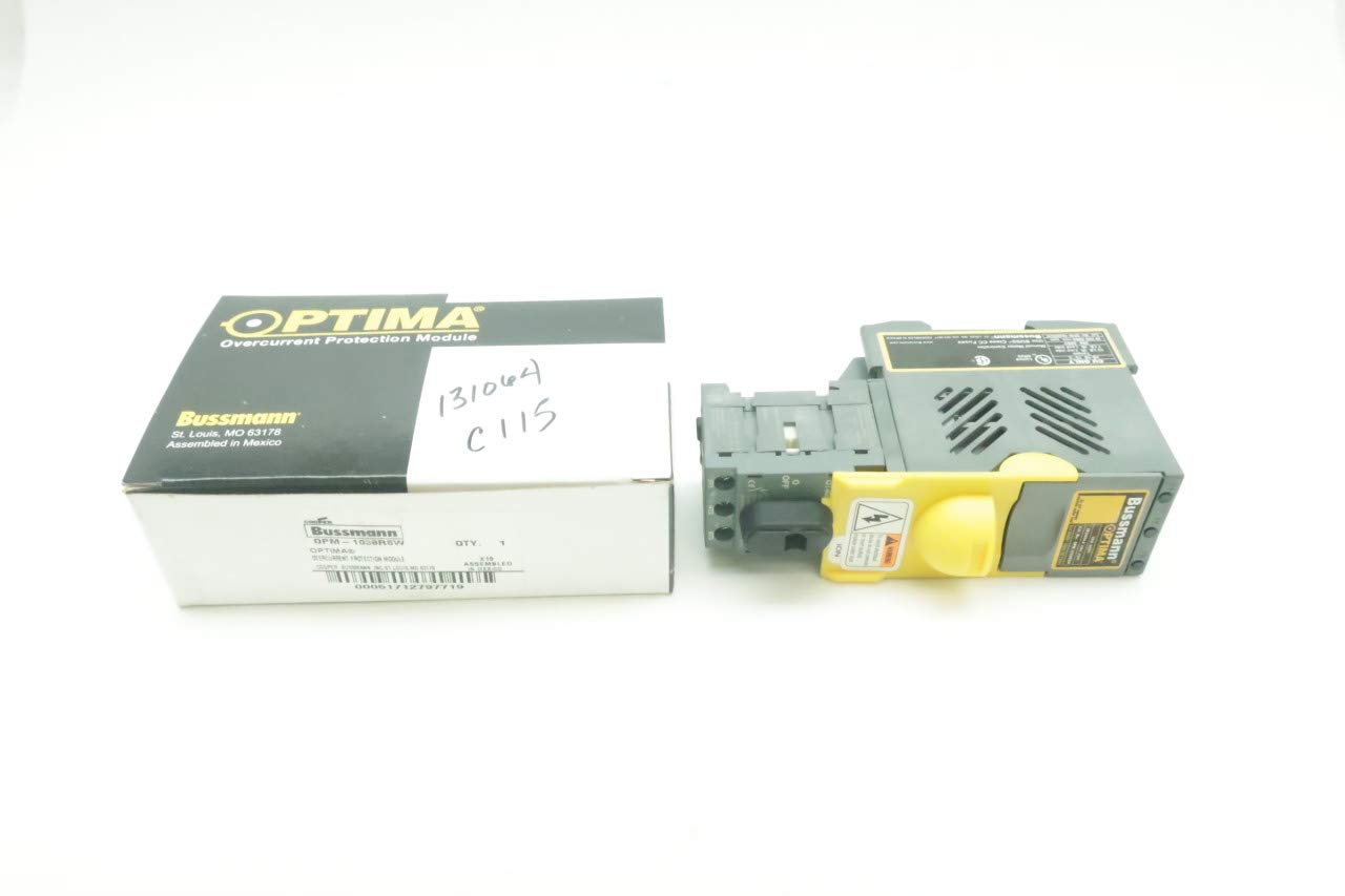 Cooper Bussmann Opm 1038rsw Optima Overcurrent Protection Module 30a Circuit D637912 Industrial Scientific