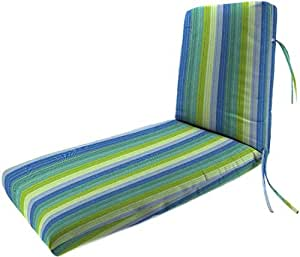 Bullnose deluxe chaise outdoor cushion 3 5 for Bullnose chaise outdoor cushion