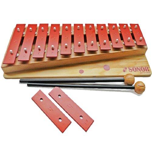 Sonor Orff G 10 Sopran Glockenspiel - c3-f4