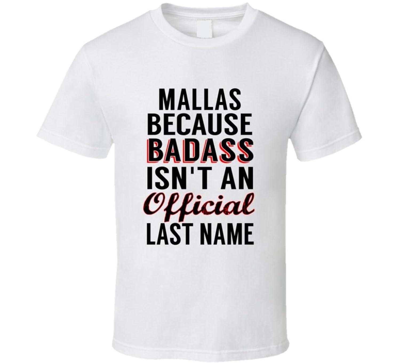 Schramer Because Badass Isnt An Official Name T Shirt