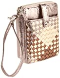 Elliott Lucca Lucca Smartphone Wristlet Cell Phone Case, Copper Gingham, One Size