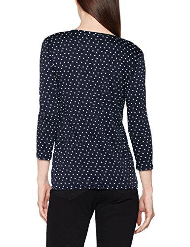 Femme TAILOR Bleu 6593 Real Navy Open Blouse Blue Shirt Draped TOM wAXCZqX