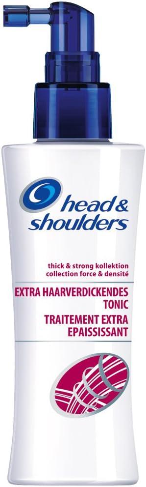 Head & shoulders thick & strong, tónico para espesamiento del ...