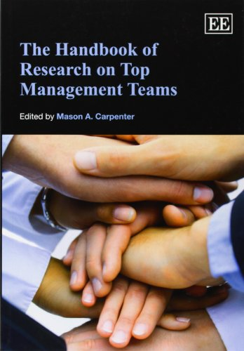 The Handbook of Research on Top Management Teams (Elgar Original Reference) (Research Handbooks in Business and Manageme