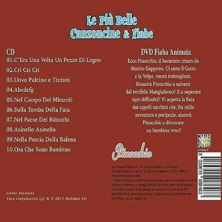 5 CD + DVD Canzoncine y cuentos infantiles, Pinocchio, I Tre Porcellini, Hansel e Gretel, Alice Nel Paese Delle Meraviglie, Il Gatto Con Gli Stivali oferta: ...