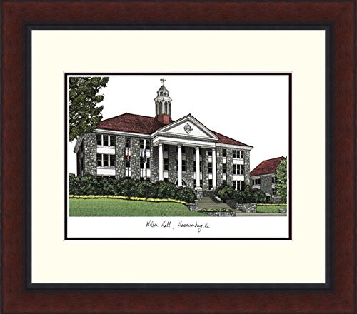 (Campus Images VA994LR James Madison University Legacy Alumnus Framed Lithographic Print)
