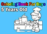 Coloring Book For Boys 5 Years Old