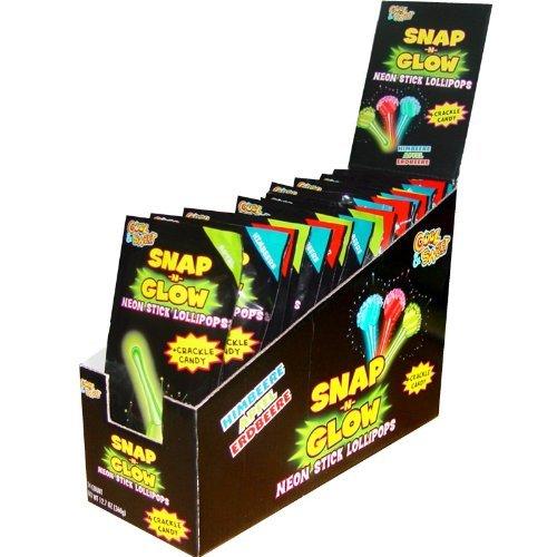 SNAP N' Glow Stick Lollipops (18 count)