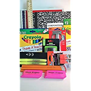 Pen Gear Back to School Supplies Bundle Kindergarten-Eighth Grade Essentials