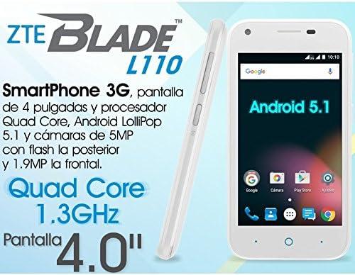 ZTE Blade L110 Dual SIM Blanco libre: Amazon.es: Electrónica