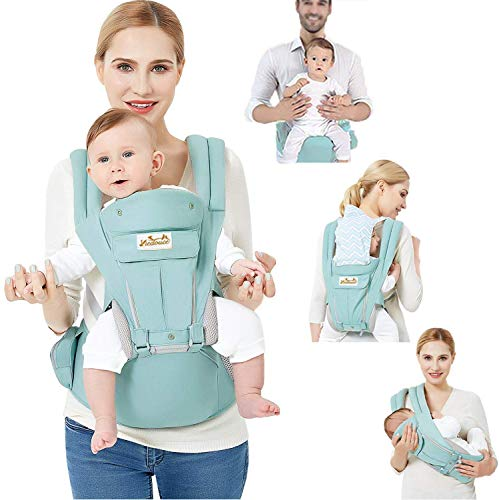 Viedouce Baby Carrier Front and Back Hip Seat for Newborn