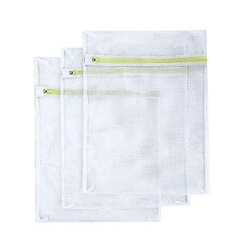 Amazon.com: SASUM - Bolsas de lavandería (3 unidades), malla ...