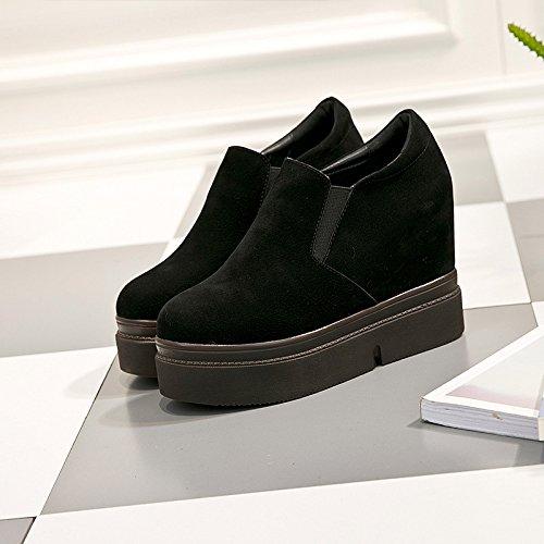 Cinco Khskx zapatos Primavera De Pedalblacktreinta Plataforma Zapatos Moda Conjuntos Y Profundo vT1qv