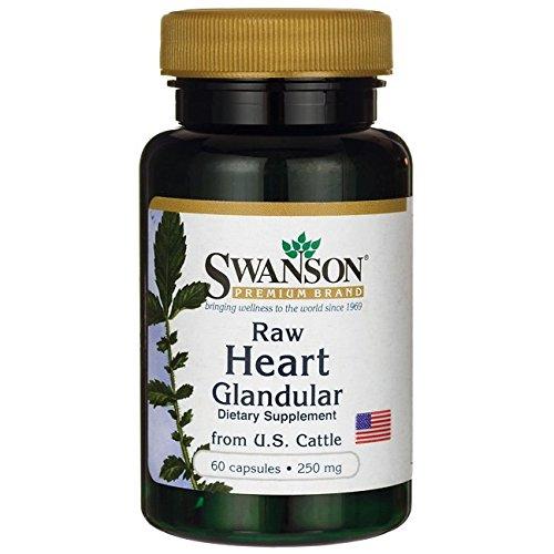 Swanson Raw Heart Glandular 250 Milligrams 60 Capsules Review