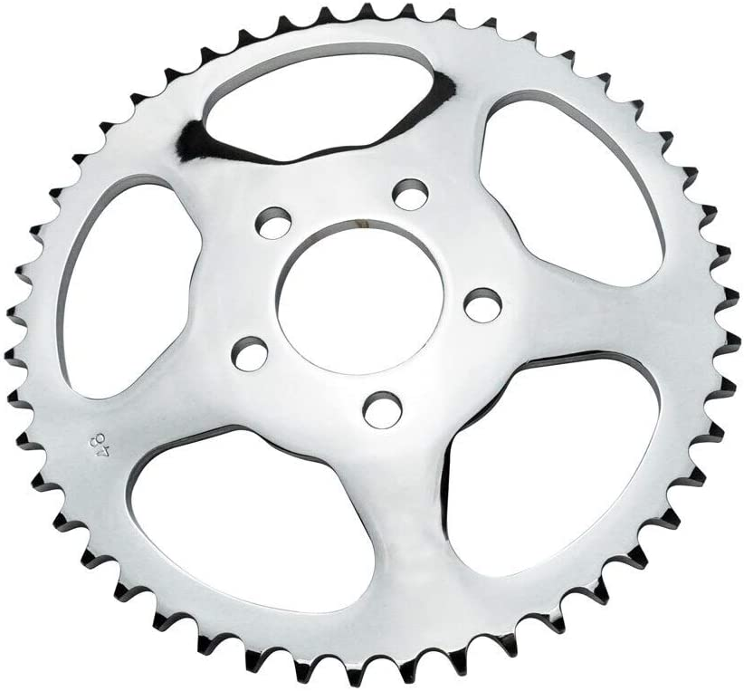 Fits 1991-1999 Harley Sportster XL Models 19-0456 22 Tooth Front Sprocket // 48 Tooth Rear Sprocket for 530x120 Chain Belt-to-Chain Conversion Kit