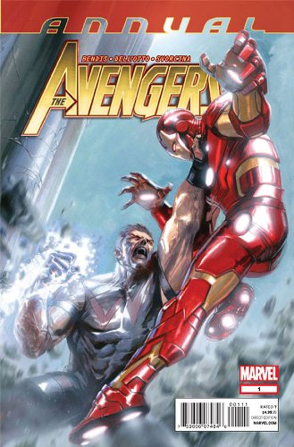 """Download Avengers Annual #1 """"1st Print- Simon Williams and HIS Revengers Believe the Avengers' Time Is Over"""" pdf"""