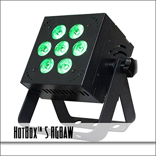 Blizzard Lighting Blizzard Hotbox 5 5-in-1 RGBAW LED Color Mixing & Advanced Electronics Stage Lighting, 5.00 x 5.00 x 4.00 (