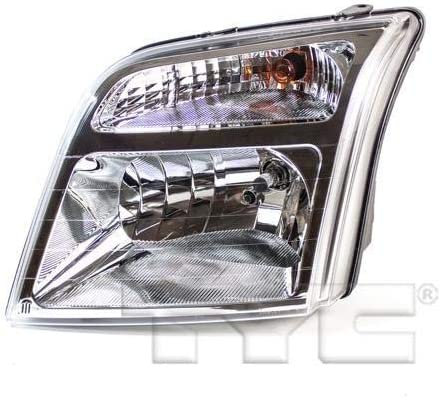 Fo 2014-2018 Ford Transit Connect Passenger Side Halogen Headlight Assembly; Fits Xl Model Without Adaptive Lamps Partslink FO2503327C