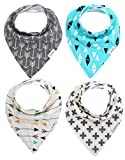 Storeofbaby Unisex Baby Bandana Drool Bibs for Dribble Teething ( Pack of 4)