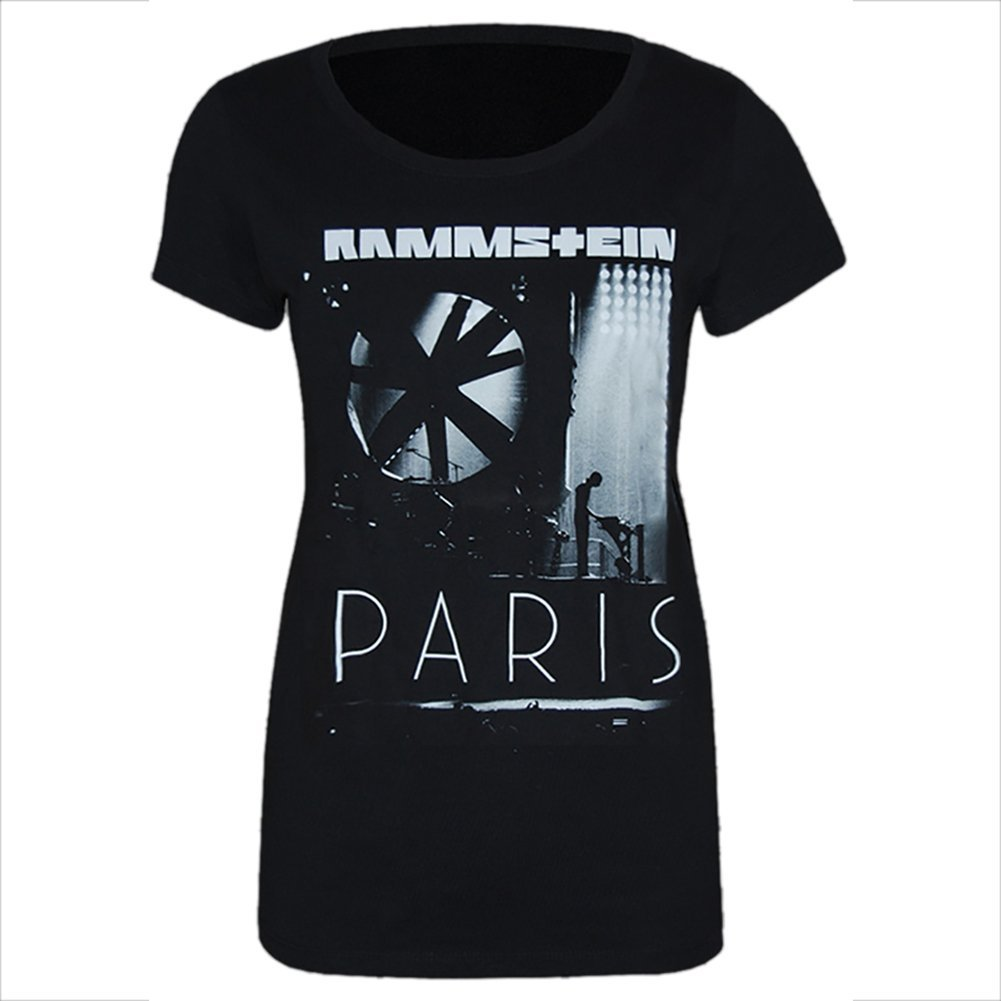 Rammstein Frauen T-Shirt Flake PARIS