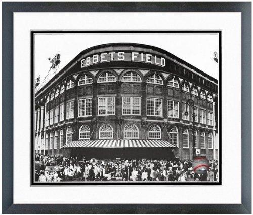 "MLB Brooklyn Dodgers Ebbets Field Photo 12.5"" x 15.5"" Framed"