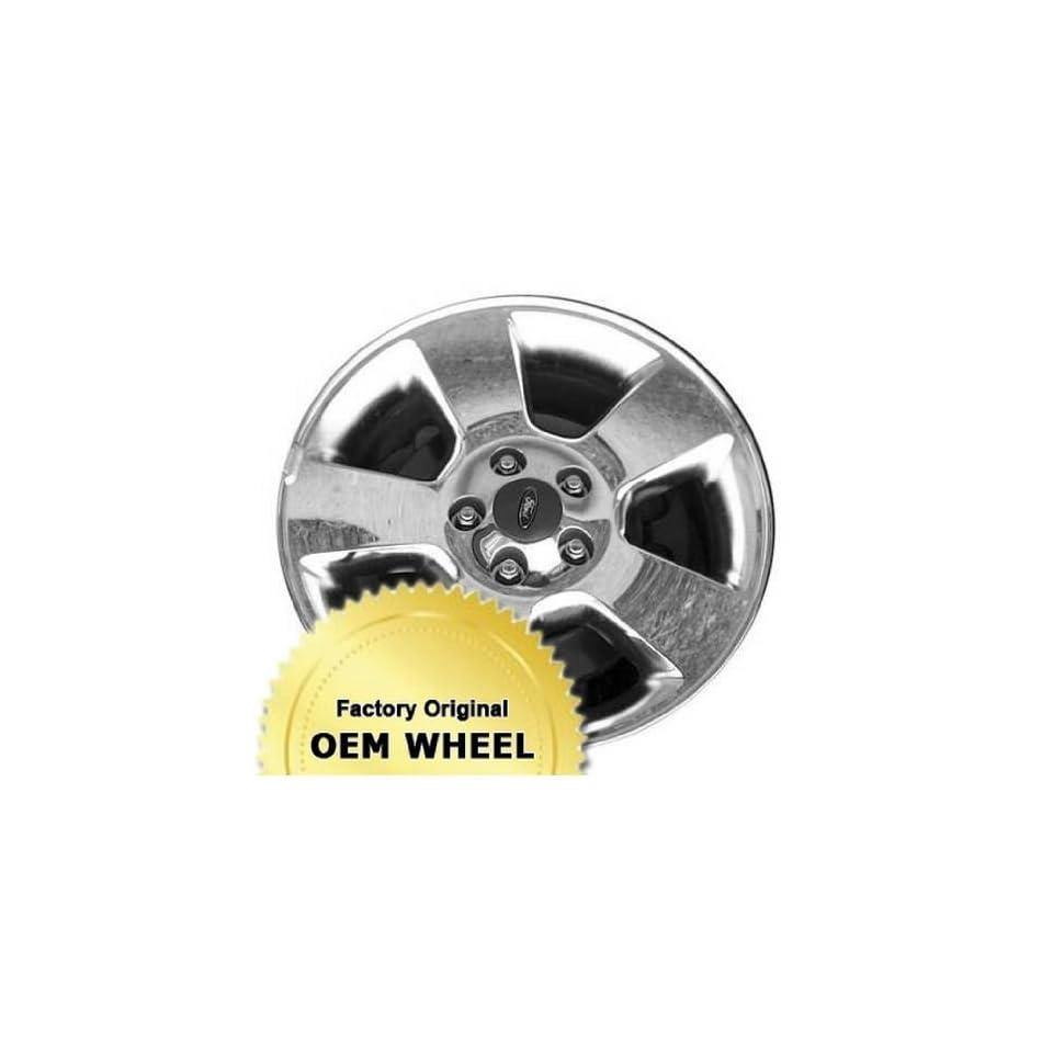 FORD EXPLORER 17x7.5 5 SPOKE Factory Oem Wheel Rim  CHROME   Remanufactured Automotive