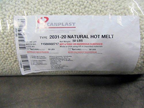 2031 Hot Melt Edgebander Glue (50 lb. bag) by Canplast USA Inc (Image #1)