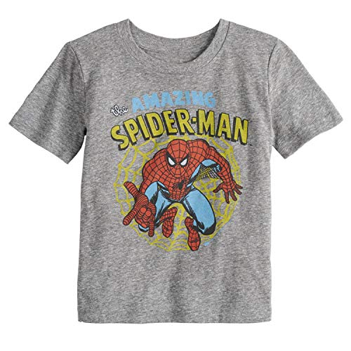 Jumping Beans Toddler Boys 2T-5T Spider-Man Amazing Graphic Tee 4T from Jumping Beans