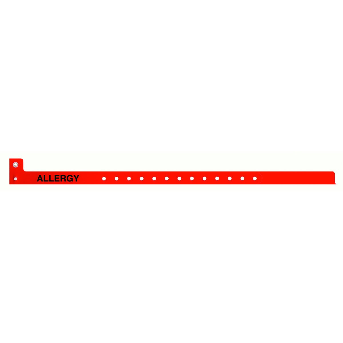 PDC Healthcare WBCNAA-5 Sentry Alert Wristband, Poly, ''ALLERGY'' Pre-Printed, State Standardization 1/2'' x 13'', Adult/Pedi, Red (Pack of 500)