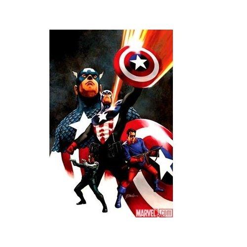 Marvel Comics Captain America #600 (Steve Epting Cover) Comic - Epting Cover