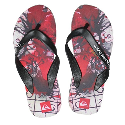 Flop Thongs Rubber Slippers Flip Quiksilver Beach Mens Multicolor Sandals avgqgw