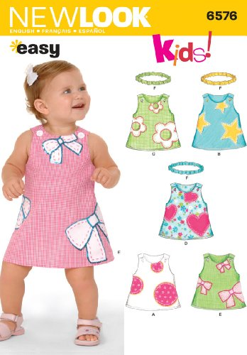 Sewing Pattern 6576 Dresses NB S M L product image