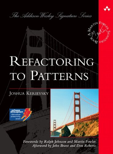 Download Refactoring to Patterns (Addison-Wesley Signature Series) Pdf