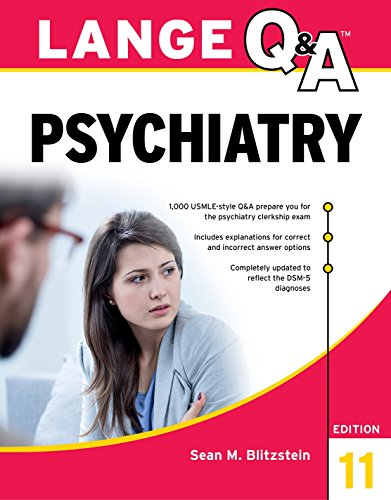 Lange Q&A Psychiatry, 11th Edition