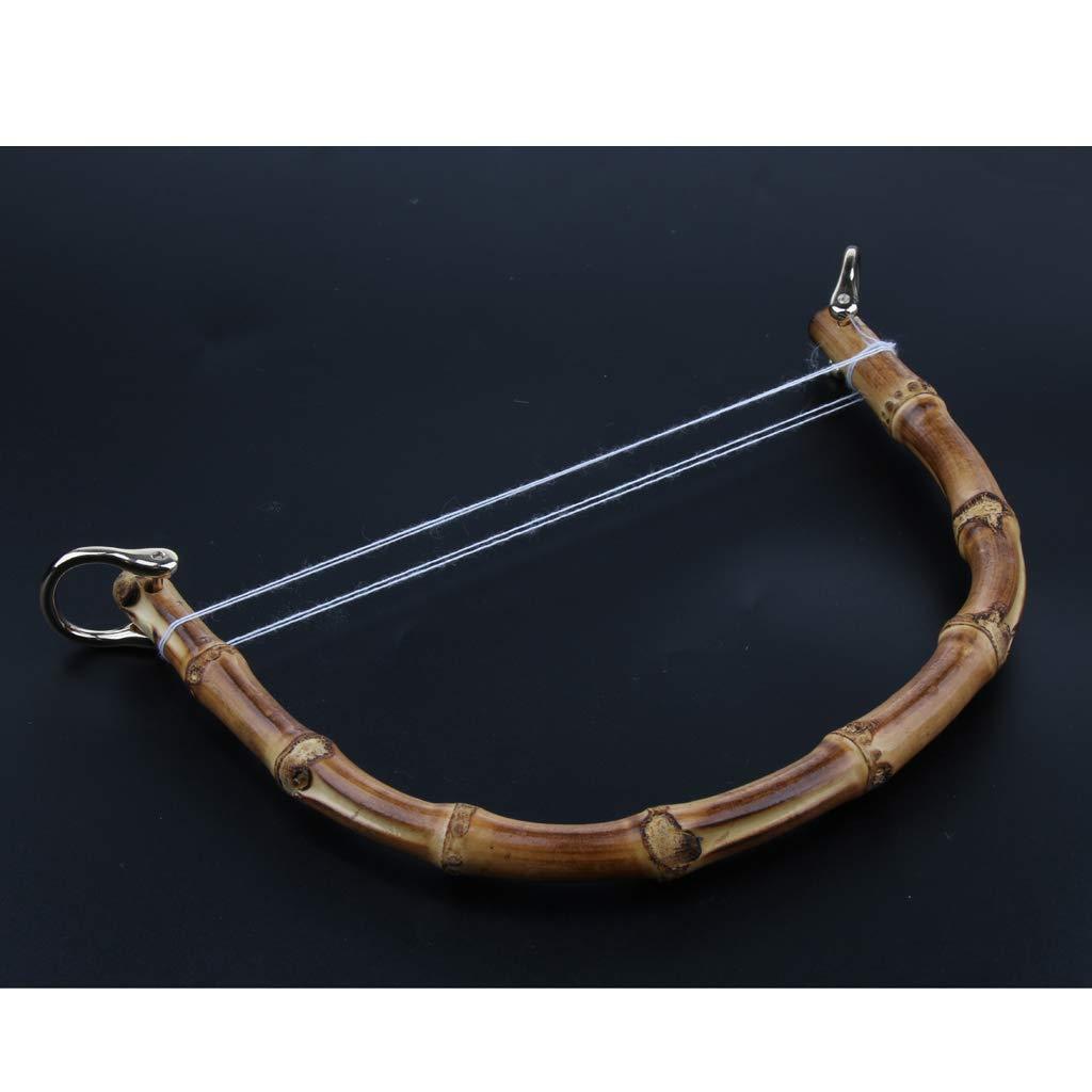 Bronze sharprepublic Bambus Holz Taschengriff Taschen Henkel Griffe DIY-Taschengriffe Taschenhenkel f/ür Geldb/örse Handtaschen