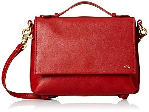 Handbag Gigi Designer - Foley + Corinna Gigi Flap Cross Body Bag, Rouge, One Size