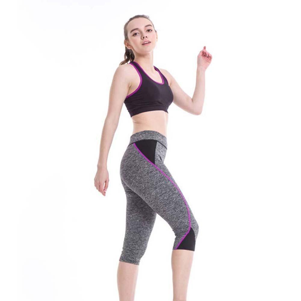Xavigio_Leggings para Mujer, Cintura Alta, Pantalones Capri ...