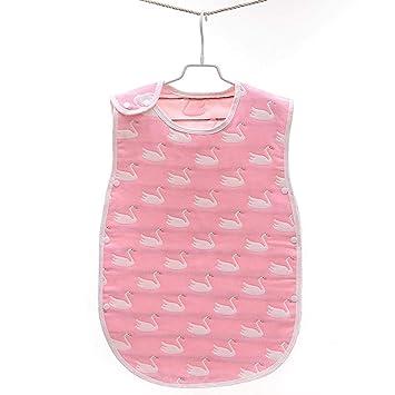 CYDKZMEPA Saco de Dormir para bebés, Gasa de algodón, Saco de Dormir para bebés