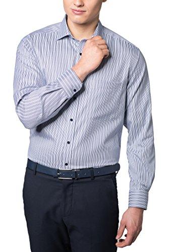ETERNA long sleeve Shirt COMFORT FIT striped