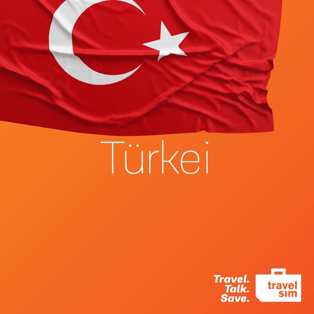 Tarjeta SIM de prepago de telefonía móvil TravelSim World para viajes a Turquía con un volumen de datos de 5 GB (en la red 3/4 G) / para 30 días: Amazon.es: Electrónica