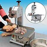 Commercial Electric Meat Band Saw Bone Sawing Machine/Slicer for cutting frozen meat, Sawing pig's trotters, beefsteak with saw blade 650W (CA Warehouse USA Shipping) -  GDAE10