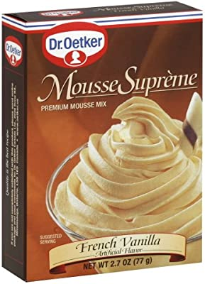 Com Dr Oetker French Vanilla Mousse Supreme Mix 2 7 Ounce Pack Of 12 Nutrition Shakes Grocery Gourmet Food