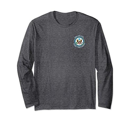 Unisex US STATE DEPARTMENT T-SHIRT XL: Dark Heather