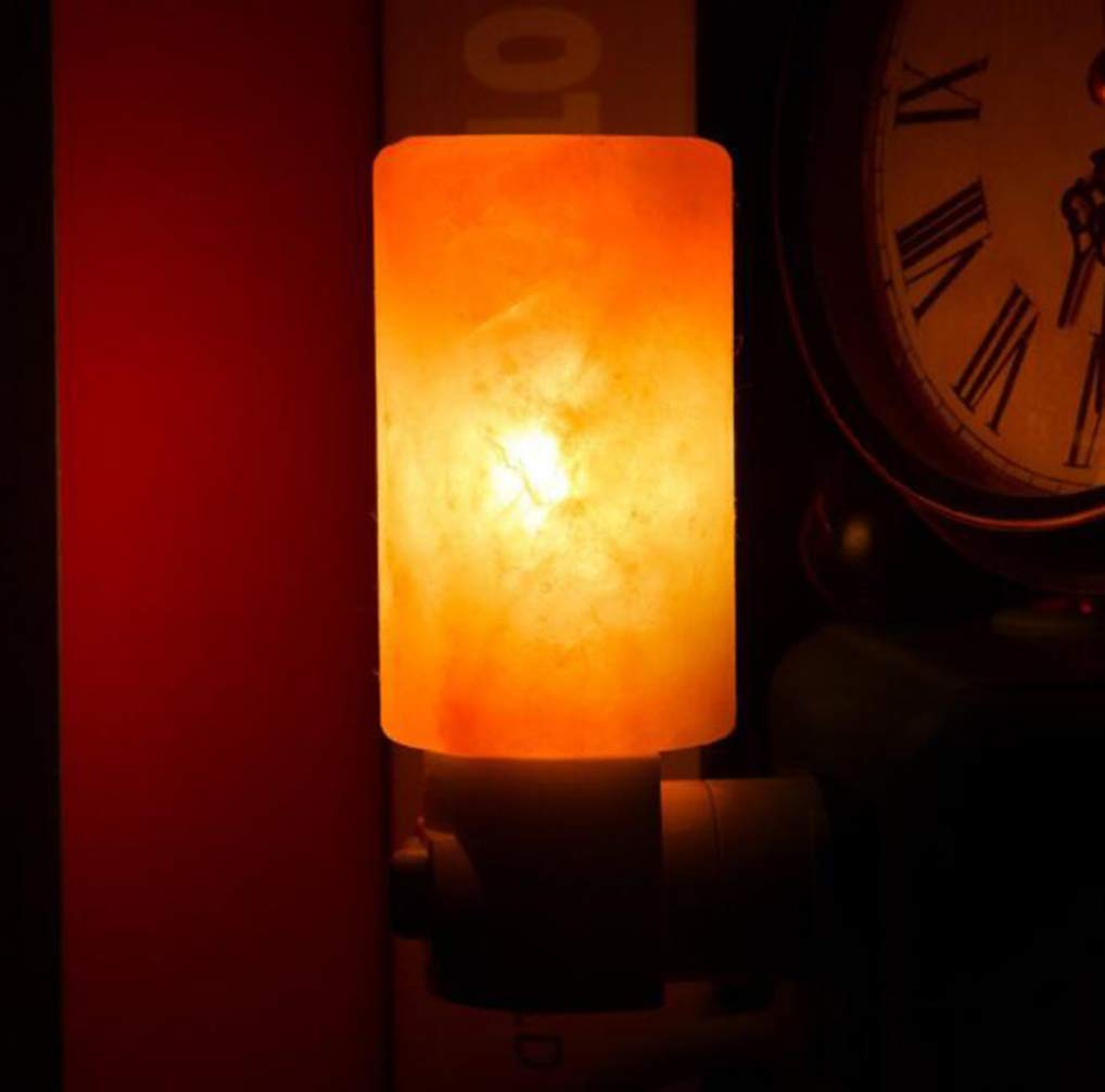 YZ-YUAN Luz De Noche 100% Original Himalayan Crystal Rock Lámpara ...