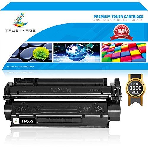 Imageclass D320 D340 Pc (TRUE IMAGE Compatible 1 Pack Cartridge S35 Black Toner Cartridge Replacement for CANON Cartridge S35 Toner for Canon ImageClass D320 Canon D320 Toner D340 Printer)