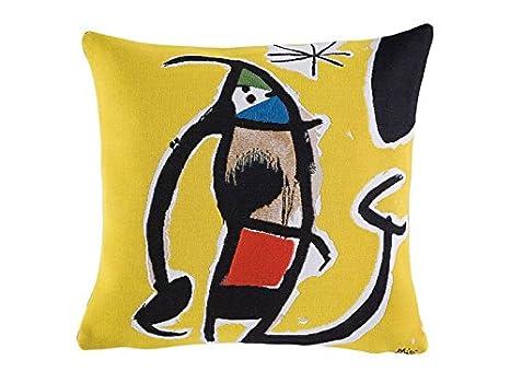 Amazon.com: Miro – Funda de almohada – Mujer, pájaro, Star ...