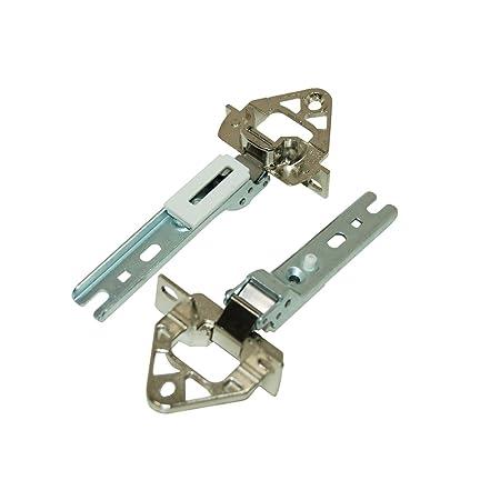 Bisagra de puerta Kit (1 par) para Siemens para nevera y ...