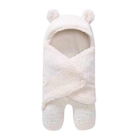 KOBWA - Saco de Dormir para bebé (antipatas, Pierna Dividida, Cachemira, Manta